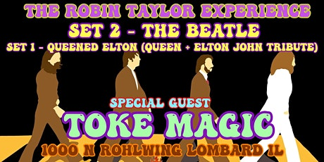 Robin Taylor Exp with special guest Toke Magic tickets