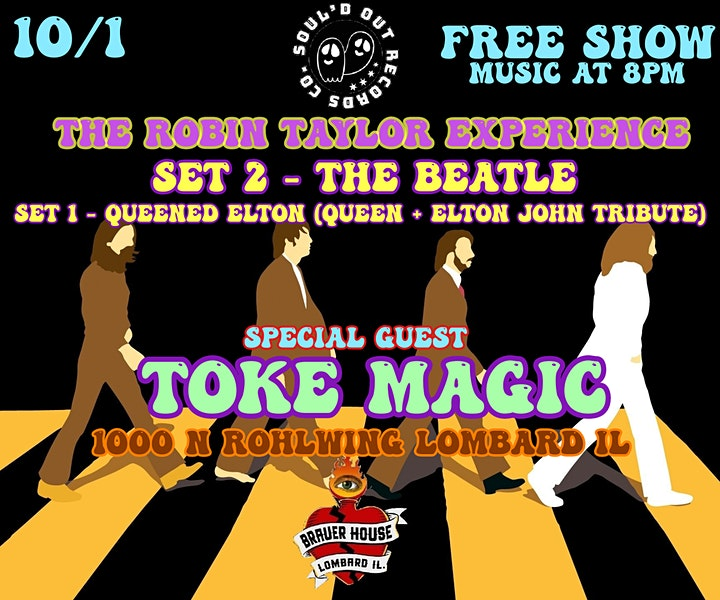 Robin Taylor Exp with special guest Toke Magic image