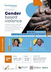 Gender Based Violence Awareness Workshop tickets