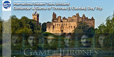 Outlander and Game of Thrones Tour - (3 Castles) Day Trip tickets