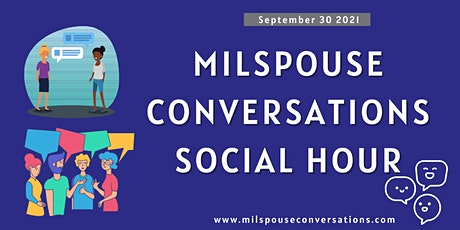 Milspouse Conversations Social Hour tickets