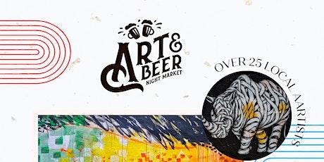Art & Beer Night Market SD! tickets