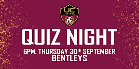 UC Football Quiz Night tickets