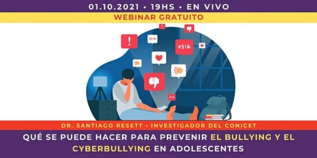 [WEBINAR] Qué se puede hacer para prevenir el bullying en adolescentes entradas