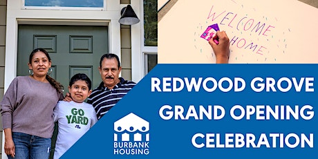 Redwood Grove Grand Opening Celebration tickets