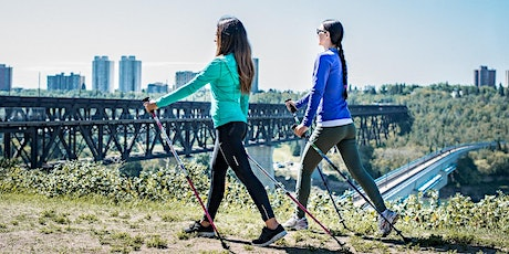 Nordic Walking and Strength Fusion Class - Canmore Park(Confederation Park) tickets