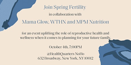 'Family Planning Ahead:' Fertility Preservation & Hormonal Wellbeing tickets