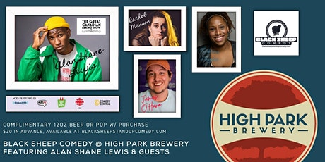 Black Sheep Comedy @ High Park Brewery Featuring ALAN SHANE LEWIS tickets