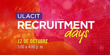 Recruitment Days tickets