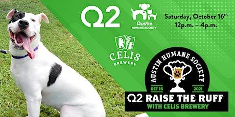 Q2 presents Raise the Ruff! tickets