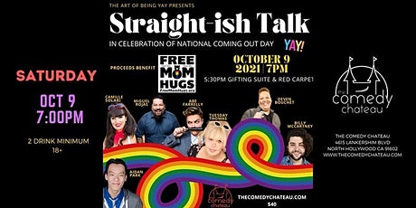 Straight-ish Talk Comedy Fundraiser. tickets