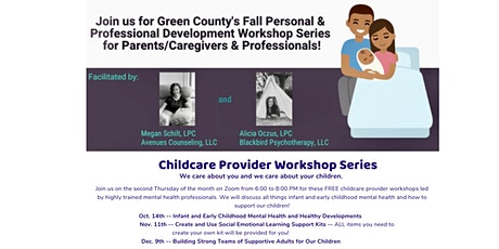 Green County Child Care Provider Workshop Series tickets