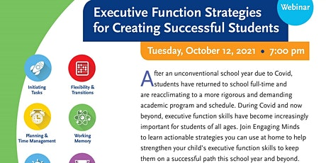 Executive Function Strategies for Creating Successful Students biglietti