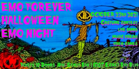 EMO FOREVER HALLOWEEN EMO NIGHT tickets