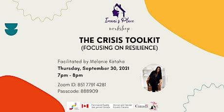 The Crisis Toolkit (Focusing on Resilience) Workshop tickets