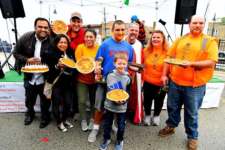 Pumpkin Pie Eating Contest 2021 image
