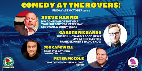 Comedy At The Rovers tickets