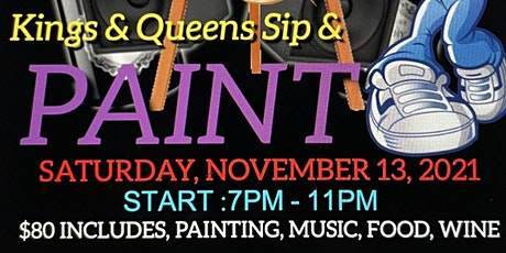 Jazzy J Sip and Paint Kings and Queens Experience tickets