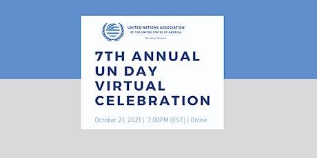 7th Annual UN Day Virtual Celebration tickets
