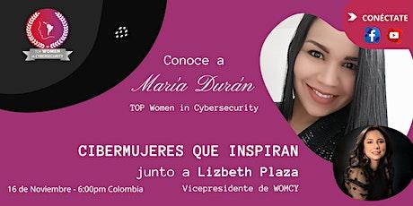 CIBERMUJERES QUE INSPIRAN - María Durán entradas
