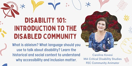Disability 101: Introduction to the Disabled Community tickets