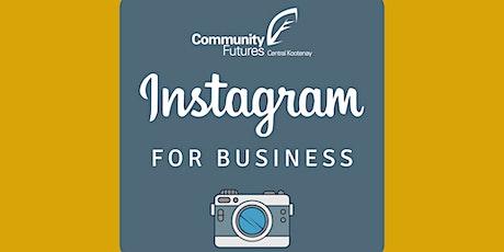 Instagram for Business - Beginner tickets