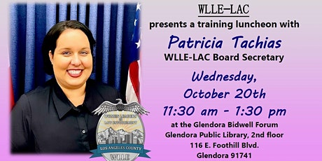 WLLE-LAC Presents Patricia Tachias for Breast Cancer Awareness Month tickets