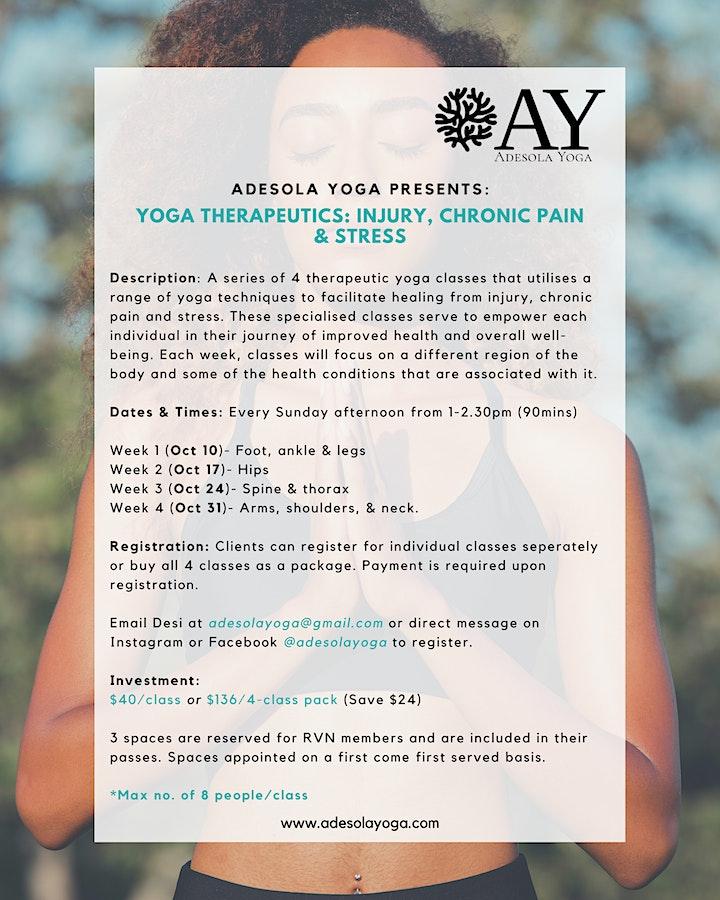 Copy of Yoga Therapeutics: Injury, Chronic Pain & Stress image