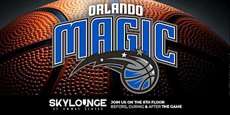 Sky Lounge Orlando Magic Game Nights tickets