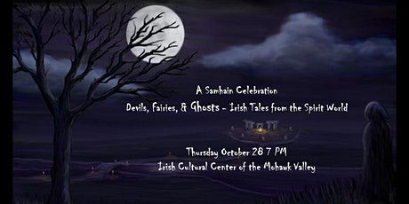 Devils, Fairies & Ghosts – Spooky Irish tales and tunes for Samhain tickets
