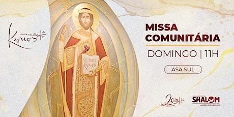 Missa Comunitária ComShalom: Missão Brasília - 26/09 ingressos