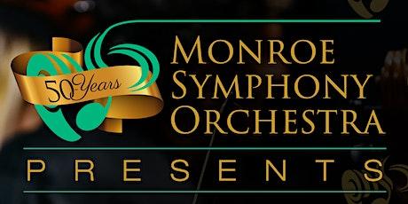 Monroe Symphony Pops Concert tickets