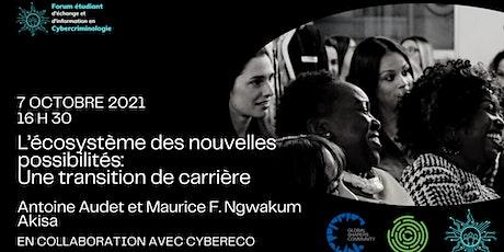 Forum étudiant d'échange et d'information en cybercriminologie billets
