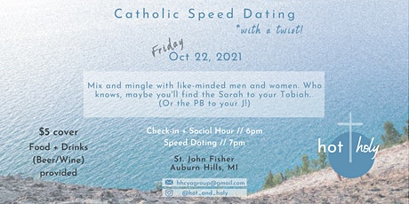 Catholic Speed Dating (with a twist!) for Young Adults tickets