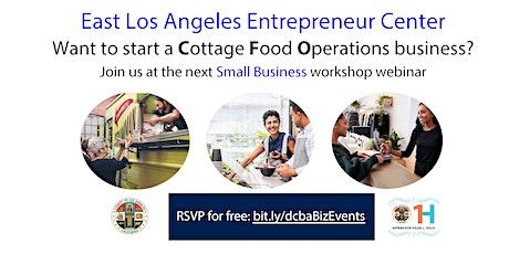 Cottage Food Operations Workshop biglietti