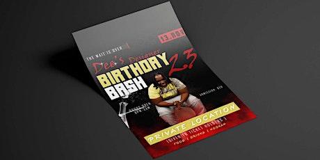 Dee's 23 Designer Themed Birthday Bash  tickets