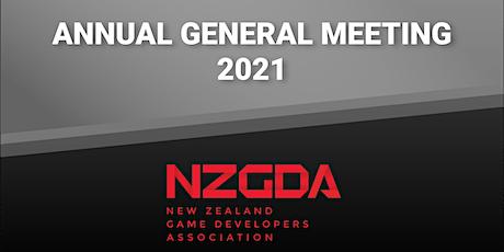 NZGDA Annual General Meeting 2021 tickets