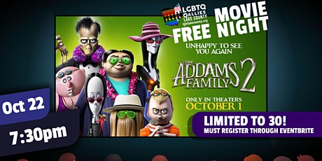 LGBTQ+ Allies Lake County presents  FREE October  Movie Night tickets