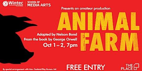 Animal Farm   A Wintec theatre amateur production tickets