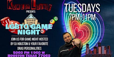 LGBTQ Game Night tickets