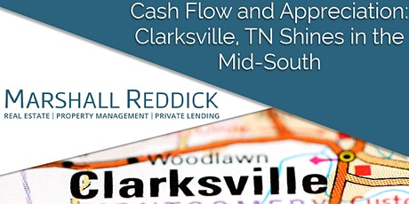 Cash Flow & Appreciation: Clarksville, TN Shines in the Mid-South tickets