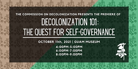 Premiere - Decolonization 101: The Quest for Self-Governance tickets