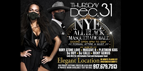 Copy of New Year's Eve Masquerade Ball tickets