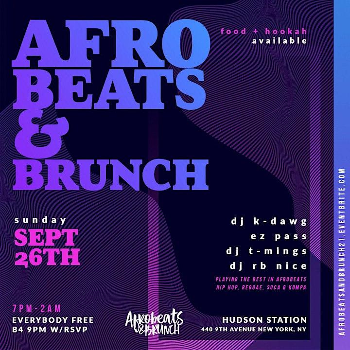 Afrobeats & Brunch image