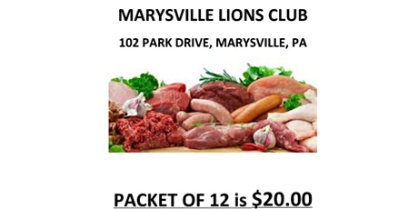 October 16th, 2021 - Marysville Lions MEAT FESTIVAL tickets