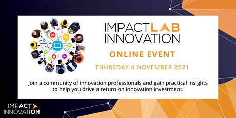 Impact Innovation LAB event: ISO Innovation Management Standards in Action tickets