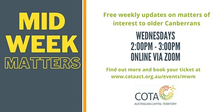 Meetweek Matters - Finances During COVID tickets