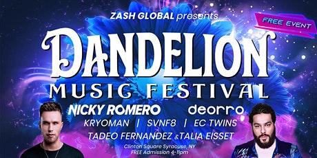 DANDELION MUSIC FESTIVAL (RSVP FOR FREE TICKET) tickets