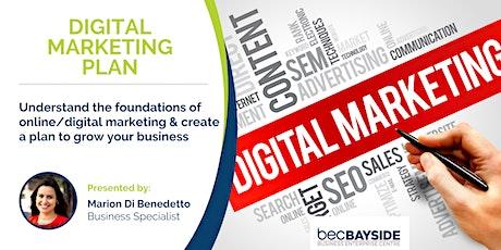 Digital Marketing Plan - Digital Transformation Workshop tickets