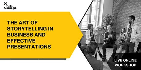 The Art of Storytelling in Business and Effective Presentations tickets